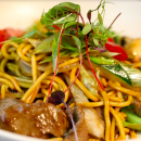 Mongolian stir fry - platter