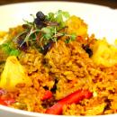Pineapple fried rice - platter
