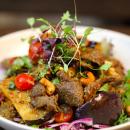 Beef & eggplant salad
