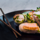 Assorted rice paper rolls (DF)