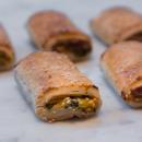 Mini gourmet vegetarian rolls