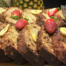 Coconut & Banana Loaf Slice (DF)