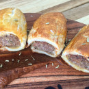 House made sausage rolls