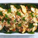 Pumpkin & couscous salad