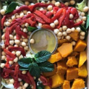 Pumpkin and Chickpea Salad (DF)