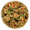 Nutty brown rice salad (DF)