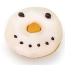 Assorted Christmas donuts