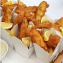 Mini fish & chips box