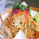 Chicken Pad Thai salad