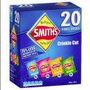 Smith's Variety multi pack (20 pcs)