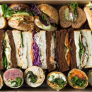 Vegetarian sandwiches, wraps & rolls
