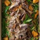 Moroccan lamb salad