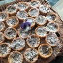 Mini tomato & feta tart