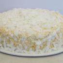 Mango & coconut cake