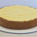 New York lemon cheesecake
