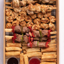 Thai street food platter (pp)
