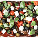 Greek salad (6-8 pax)