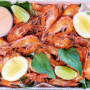 local prawns (1.5 Kg)(6-8 pax)