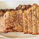 Crispy pork belly with roasted fennel & apple platter (DF)