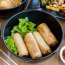 Vegetarian spring rolls (DF)