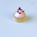 Mini raspberry meringue tart (25 pcs)