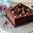 Vegan Choc Hazelnut Cake