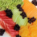 Fruit platter (Serves 8 to 10)