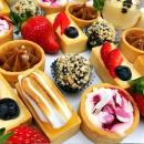 Petit four platter (30 petite pieces)