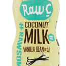Raw C Coconut Milk Drinks –8 x 300ml Coconut Milk Vanilla Bean & Sea Salt