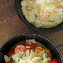 Creamy Garlic Prawn Risotto
