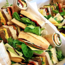 Assorted gourmet sandwiches (1.5 pcs) (H)