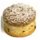 Coffee Ricotta Cheesecakes (4 pcs)