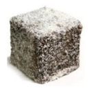 Lamingtons (4 pcs)