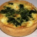 Spinach & Feta Quiche (4 pcs)