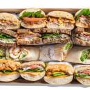 Sandwich selection (8 pcs)