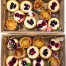 Assorted mini tarts