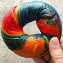 Brooklyn Boy rainbow bagel (48hrs notice)