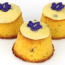 Mini passionfruit cake