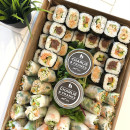 Sushi & Rice paper roll platter
