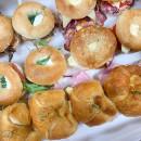 Mini bagels & croissant box (16 pcs)