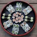 Mini Roll Platter (60pcs)