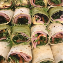 Assorted gourmet wraps