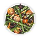Green beans & tomato salad