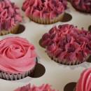 Lavender Pink Cupcakes