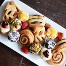 Mini French pastries
