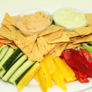 Crudite & dips platter for 30 pax