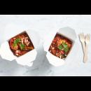 Cauliflower, lentil & chickpea curry