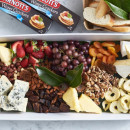 Cheese, fruit & nuts platter