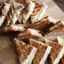 Assorted toasted breads