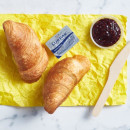 Oven fresh large croissant